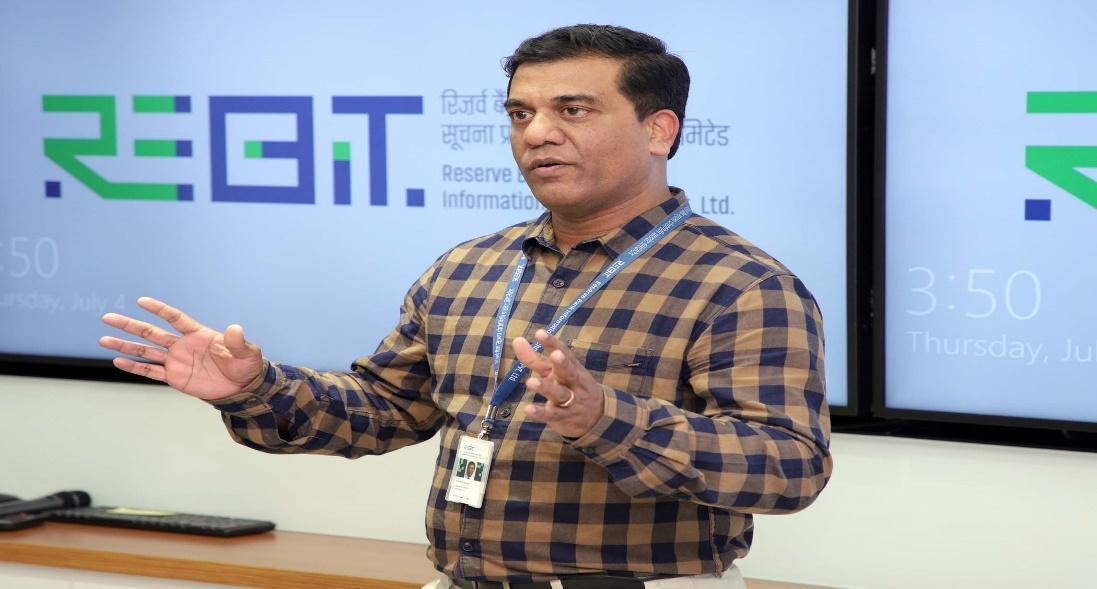 ReBIT VP Corporate Centre Shenoj Balaraman