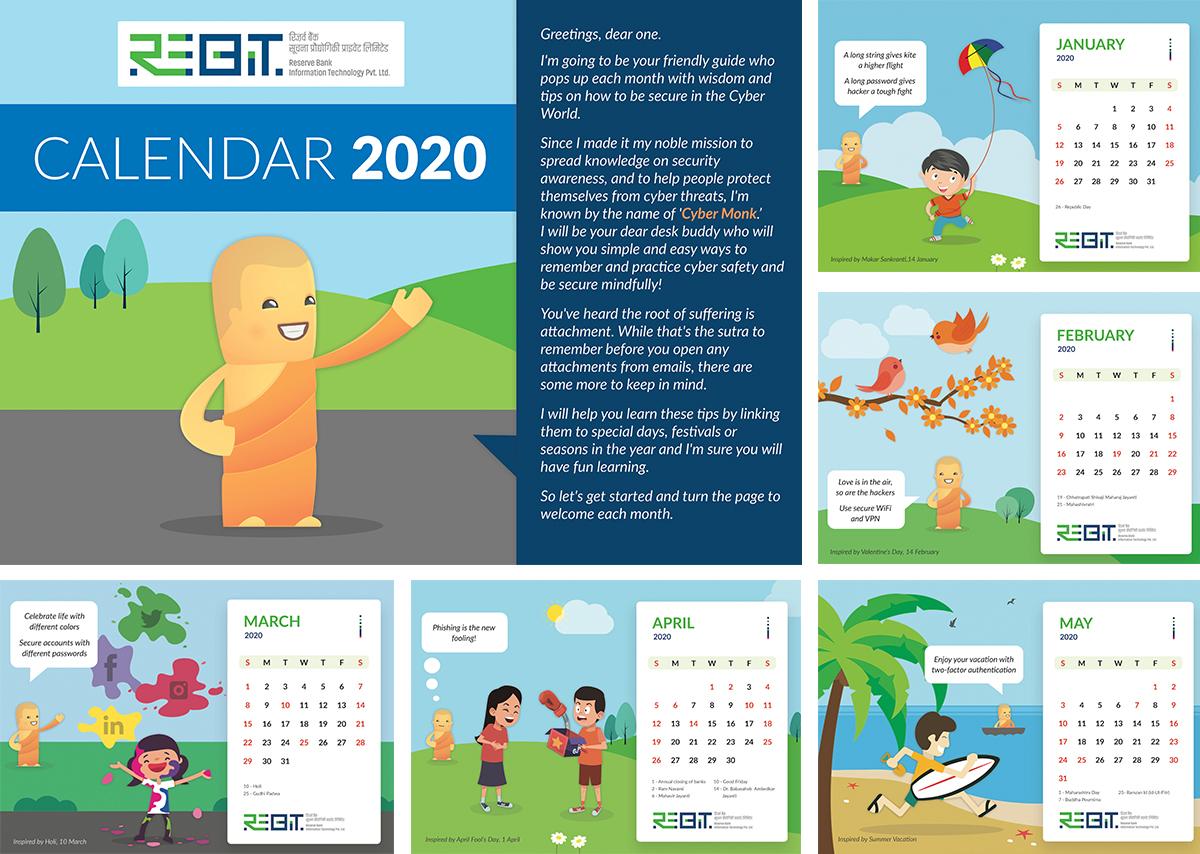 Rebit Calendar 2020